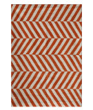 RugStudio presents Jaipur Rugs Maroc MR29 Orange Flat-Woven Area Rug