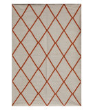 RugStudio presents Jaipur Rugs Maroc MR04 White Flat-Woven Area Rug