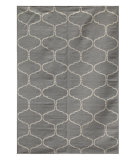 RugStudio presents Rugstudio Sample Sale 70054R Medium Gray Flat-Woven Area Rug