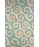 RugStudio presents Jaipur Rugs Coastal I-O Wave Hello CI12 Cameo Hand-Hooked Area Rug