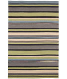 RugStudio presents Jaipur Rugs Colours I-O In a Row CO01 Lime Green Hand-Hooked Area Rug