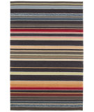 RugStudio presents Rugstudio Sample Sale 69947R Deep Charcoal Hand-Hooked Area Rug