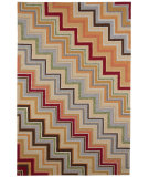 RugStudio presents Jaipur Rugs Colours I-O What's Your Angle CO05 Deep Charcoal Hand-Hooked Area Rug