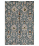 RugStudio presents Jaipur Rugs Urban Bungalow MR43 Cool Aqua Flat-Woven Area Rug