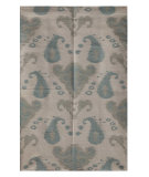 RugStudio presents Rugstudio Sample Sale 70048R Antique White Flat-Woven Area Rug