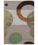 RugStudio presents Rugstudio Sample Sale 70050R Antique White Hand-Tufted, Better Quality Area Rug