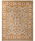 RugStudio presents Jaipur Rugs Atlantis Jhanki Al19 Ice Blue Hand-Knotted, Good Quality Area Rug