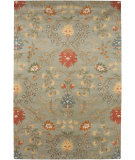RugStudio presents Rugstudio Sample Sale 62030R Sea Blue/Sea Blue Hand-Tufted, Good Quality Area Rug