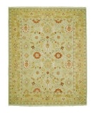 RugStudio presents Rugstudio Sample Sale 53414R Light Gold/Medium Gold Hand-Knotted, Good Quality Area Rug