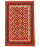 RugStudio presents Jaipur Rugs Anatolia Izmir At06 Red / Medium Tabasco Flat-Woven Area Rug