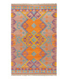 RugStudio presents Jaipur Rugs Anatolia Kaliediscope At07 Warm Tan Flat-Woven Area Rug