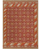 RugStudio presents Jaipur Rugs Anatolia Wings At08 Mars Red Flat-Woven Area Rug