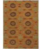 RugStudio presents Jaipur Rugs Anatolia Revert At09 Golden Green Flat-Woven Area Rug