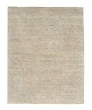 RugStudio presents Rugstudio Sample Sale 53445R Ashwood/Silver Gray Hand-Knotted, Good Quality Area Rug