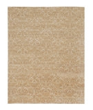 RugStudio presents Jaipur Rugs Vestiges Auric RV09 Antique White/Dark Ivory Hand-Knotted, Good Quality Area Rug