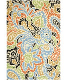 RugStudio presents Jaipur Rugs Barcelona I-O Flores BA04 Cloud White/Cloud White Hand-Hooked Area Rug