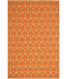 RugStudio presents Rugstudio Sample Sale 61937R Red Orange/Red Orange Hand-Hooked Area Rug