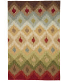 RugStudio presents Rugstudio Sample Sale 61950R Beige/Beige Hand-Hooked Area Rug