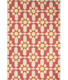 RugStudio presents Jaipur Rugs Barcelona I-O Moravian Ba35 Pink/Orange Hand-Hooked Area Rug