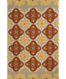 RugStudio presents Jaipur Rugs Barcelona I-O Malta Ba46 Beige/Orange Hand-Hooked Area Rug