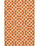 RugStudio presents Jaipur Rugs Barcelona I-O Belvedere Ba50 Orange/White Hand-Hooked Area Rug