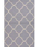 RugStudio presents Jaipur Rugs Barcelona I-O Sparten Ba63 Light Gray/White Hand-Hooked Area Rug