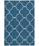 RugStudio presents Jaipur Rugs Barcelona I-O Sparten Ba64 Blue/White Hand-Hooked Area Rug