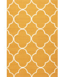 RugStudio presents Jaipur Rugs Barcelona I-O Sparten Ba65 Orange/White Hand-Hooked Area Rug