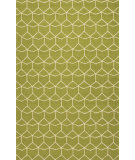 RugStudio presents Jaipur Rugs Barcelona I-O Estrellas Ba68 Green/White Hand-Hooked Area Rug