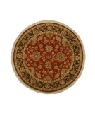 RugStudio presents Jaipur Rugs Atlantis Badsha AL01 Rust/Tobacco Hand-Knotted, Good Quality Area Rug
