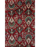RugStudio presents Jaipur Rugs Bali Melia Bal01 Red/Blue Hand-Knotted, Good Quality Area Rug