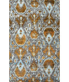 RugStudio presents Jaipur Rugs Bali Melia Bal02 Gray/Yellow Hand-Knotted, Good Quality Area Rug