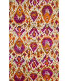 RugStudio presents Jaipur Rugs Bali Melia Bal04 Fuchsia/Orange Hand-Knotted, Good Quality Area Rug