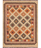 RugStudio presents Jaipur Rugs Bedouin Giza Bd02 Dark Ivory Flat-Woven Area Rug