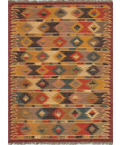 RugStudio presents Jaipur Rugs Bedouin Riyadh Bd05 Cloud White / Ruby Wine Flat-Woven Area Rug