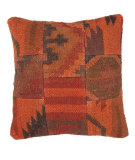RugStudio presents Jaipur Rugs Bedouin Thal Bd06 Orange / Merlot Red