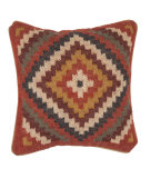 RugStudio presents Jaipur Rugs Bedouin Gobi Pillow Bd07 Red / Natural