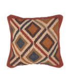RugStudio presents Jaipur Rugs Bedouin Indus Pillow Bd14 Red / Blue