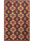 RugStudio presents Jaipur Rugs Bedouin Zafer Bd23 Red Flat-Woven Area Rug