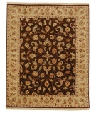 RugStudio presents Rugstudio Sample Sale 53271R Cocoa Brown/Sand Hand-Knotted, Good Quality Area Rug