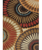 RugStudio presents Jaipur Rugs Blue In Bloom BL01 Bronze Green/Mushroom Hand-Tufted, Good Quality Area Rug