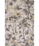RugStudio presents Jaipur Rugs Blue Woodland Bl101 White Hand-Tufted, Good Quality Area Rug