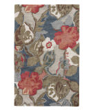 RugStudio presents Jaipur Rugs Blue Petal Pusher Bl116 Indigo Hand-Tufted, Good Quality Area Rug