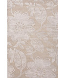 RugStudio presents Jaipur Rugs Blue Bouquet Bl118 Dark Sand Hand-Tufted, Good Quality Area Rug