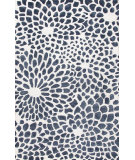 RugStudio presents Jaipur Rugs Blue Mumford Bl122 White Hand-Tufted, Good Quality Area Rug