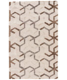 RugStudio presents Rugstudio Sample Sale 102738R Antique White Hand-Tufted, Good Quality Area Rug