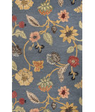 RugStudio presents Jaipur Rugs Blue Garden Party Bl130 Indigo Hand-Tufted, Good Quality Area Rug