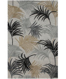 RugStudio presents Jaipur Rugs Blue Palm Reader BL51 Classic Gray/Classic Gray Hand-Tufted, Good Quality Area Rug