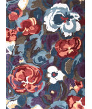 RugStudio presents Jaipur Rugs Blue Coming Up Roses Bl57 Seaside Blue Hand-Tufted, Good Quality Area Rug