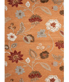 RugStudio presents Jaipur Rugs Blue Garden Party Bl59 Pumpkin Hand-Tufted, Good Quality Area Rug